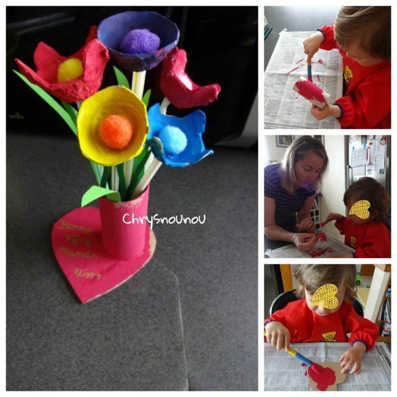 activité de fêtes des mères